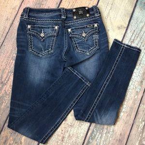 Miss Me Medium Wash Signature Skinny Jeans